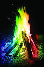 Mystical Fire 12 Pack - Coloured Flames Magic Colour Changing Fire Bonfire