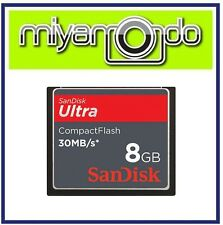 Sandisk Ultra Compact Flash CF 8GB Memory Card