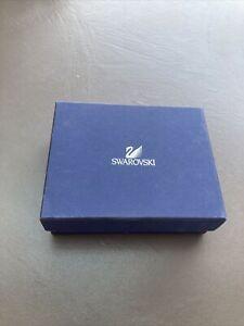 swarovski empty gift box