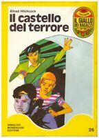 (Hitchcock) Il castello del terrore 1971 Mondadori giallo ragazzi 26