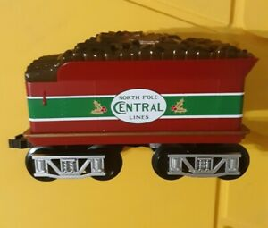 Lionel Ready To Play Train Wood Tender North Pole Central Lines 7-11729