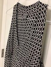 Ann Taylor Women's Dress 6P Black and White