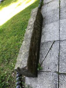 Large 122cm x 26cm x 16cm Reclaimed York Step Stone / Beam / Kerb