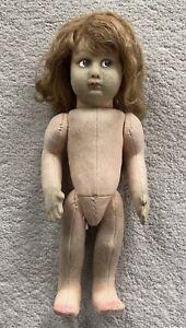 """Antique Vintage Lenci Doll 13"""""""