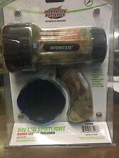 Compact Led Spotlight Hunting Interstate Batteries, Camo, 220 lumens, LIG8201