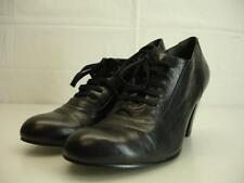 Womens 9 M Nine West Nostalgia Heel Black Shoes Pumps Victorian Edwardian Granny