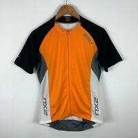 2XU Mens Cycling Jersey Size Medium Short Sleeve Full Zip