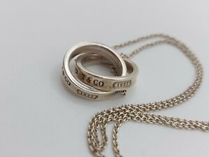 TIFFANY & CO Sterling Silver  Pendant/ necklace