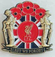 liverpool football club rangers somme loyalist  poppy badge
