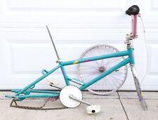 1987 Schwinn Predator Freeform Freestyle BMX Old School Bike Frame & Parts Pink