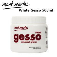 Mont Marte Premium Universal Gesso Primer - White 500ml