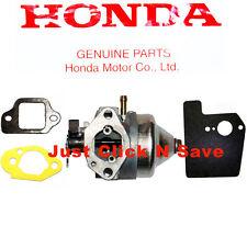 HONDA HRX217 HRX2172HMA HRX2172HXA Lawn Mower CARBURETOR & GASKETS KIT SET NEW