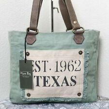 🆕Myra Bag TEXAS VINTAGE Canvas Tote Bag Purse Vintage Fashion for Women