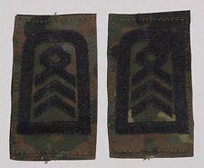 Dienstgradabzeichen Rangschlaufen, Oberstabsfeldwebel Fleck mit Klett .....D7283