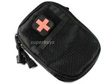 Black Tactical First Aid Waist Bag MOLLE Survival Outdoors Travel Hiking Medical