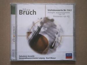 Max Bruch - Violinkonzerte Nr.1 & 2, Salvatore Accardo (Violine), CD, Neu & OVP!