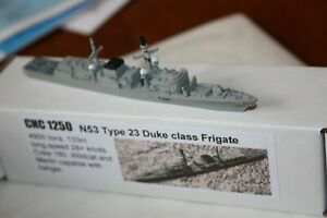 HMS Lancaster Type 23 New remodelled in metal in 1250 scale CNCollectables