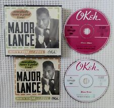 MAJOR LANCE Best Of OKEH 2CD Soul R&B Curtis Mayfield You Don't Want Me No More
