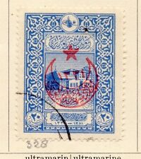 Turkey 1916 Early Issue Fine Used 20p. Star and Moon Optd 167776