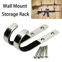 J-Hook Rifle Gun Airsoft Wall Mount Rack Storage Mount Bracket Hanger Gun Rack