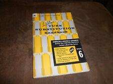Howard Sams Tube Substitution Handbook 1963