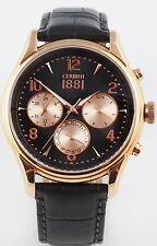 Cerruti 1881 Herren Uhr Chrono Chronograph grau NEU CRA107SR13GY UVP* 269,00€