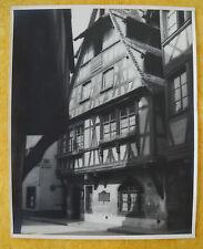 "CH. SPEHNER - Photo 1930   "" LA PETITE FRANCE  STRASBOURG ""  Cachet"