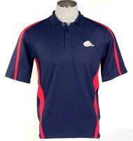 Under Armour Samford University Navy Blue Moisture Wicking Polo Shirt Men's NWT