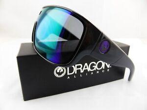 Dragon HEX Sunglasses Shiny/Matte Black Frame - Purple Ion Lens 201-20-051
