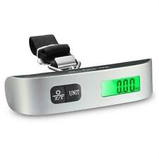 50kg Portable Hanging Digital Travel Suitcase Luggage Weighing Electronic Scales