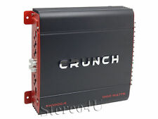 Crunch PX-1000.4 1000 Watt 4-Channel Class A/B Car Amplifier Car Audio Amp