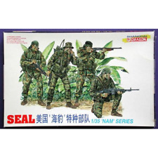 SEAL KIT 1:35 Dragon Kit Figure Militari Die Cast Modellino