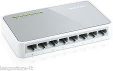 HUB DI RETE SWITCH TP-LINK TL SF1008D 10/100 MBPS ETHERNET 8 PORTE BY STORE