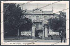 PARMA SALSOMAGGIORE TERME 144 HOTEL ALBERGO Cartolina viaggiata 1931