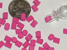 10pc. Lot Push Pink plugs for bottles Vials charms we sell New trim plugs