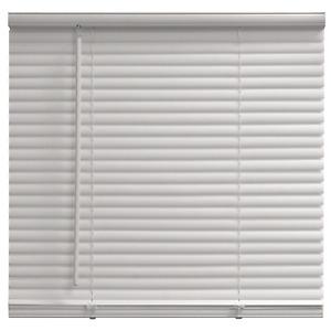"""Cordless 1"""" Vinyl Mini Blind Window Shade Washable Inside Outside Mount 23""""- 72"""""""