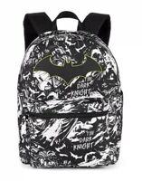 "Dark Knight 12/"" Toddler Backpack New Batman on Batbike Batman Backpack"