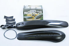 RACE PAC MTB  BIKE SEAT POST MOUNT REAR MUDGUARD SPLASH & DIRT CRUD GUARD SET