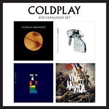 COLDPLAY - 4 CD CATALOGUE SET    (CD) Sealed
