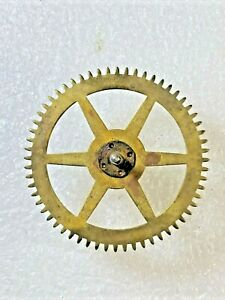 New Haven Clock Movement Time Side 2nd Wheel (See Pics to ID Mvmt) (K5857)