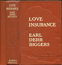 Love Insurance by Earl Derr Biggers-First Edition-1914