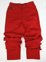 ESCADA SPORT Ladies orange bright Red Jeans EU38 UK10 high waist