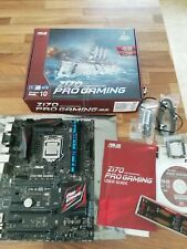 Intel Skylake Core i5 6600K 3.5Ghz CPU and ASUS Z170 Pro Gaming Motherboard
