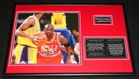 Michael Jordan Framed 12x18 Photo Display Chicago Bulls North Carolina