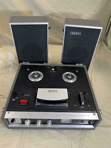 Vintage Sony Solid State Stereo Center 230 REEL-TO-REEL Tape Player