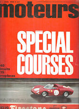 MOTEURS 49 1965 ESSAI PORSCHE 911 2.0 ASA 1000 GT COUPE SPECIAL F1 F2 F3 SAFARI