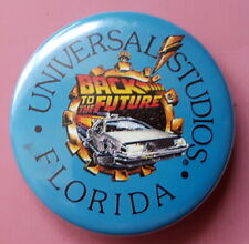 Back To The Future 1990 Pin Badge Brooch. Universal Studios + Original price tag