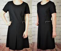 NEXT NEW TAGGED £28 LADIES BLACK WORKWEAR DRESS 282/576