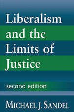 LIBERALISM AND THE LIMITS OF JUSTICE., Sandel, Michael J., Used; Very Good Book