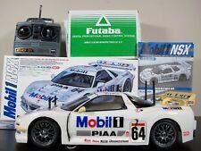 Tamiya 1/10 R/C Honda NSX Mobil 1 PIAA TA03R Belt Drive 58220 Futaba ESC Remote